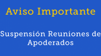 suspension reunion de apoderados